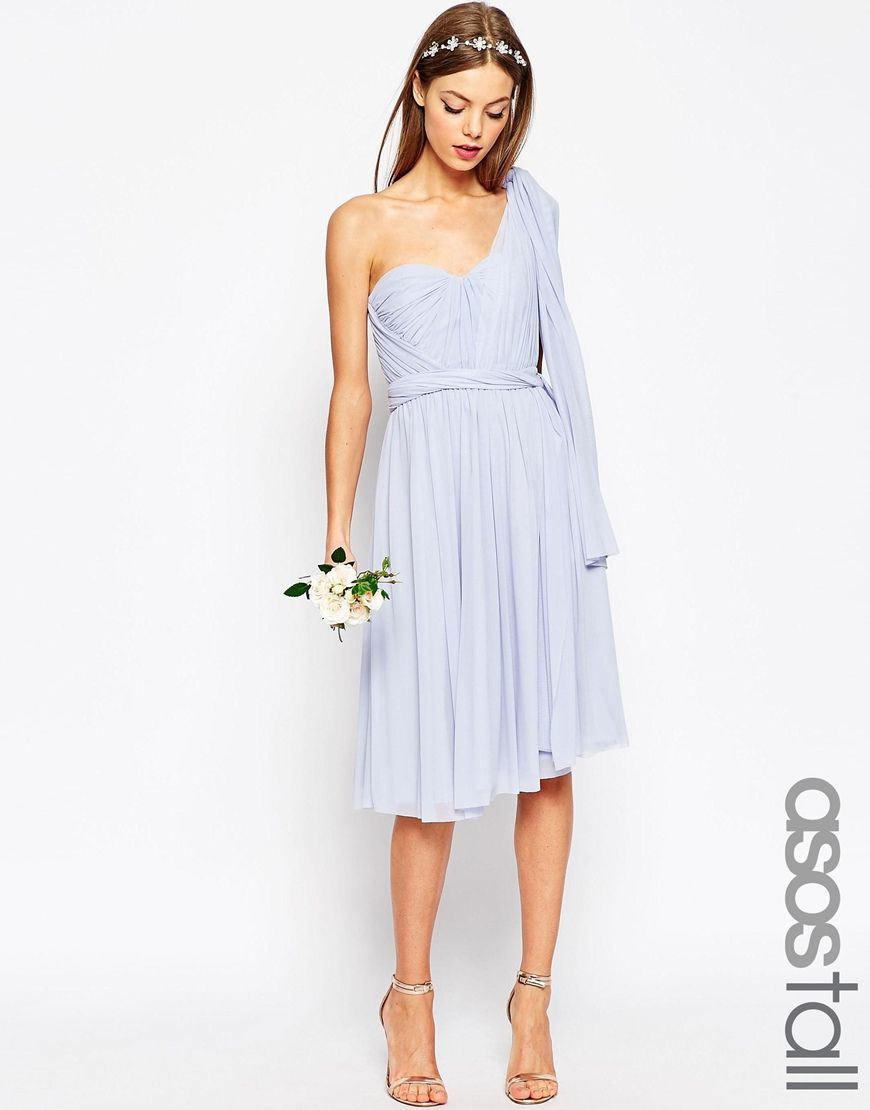 Multiway bridesmaid dress wrap knot twist the straps to create asos multi way bridesmaid dress ombrellifo Images