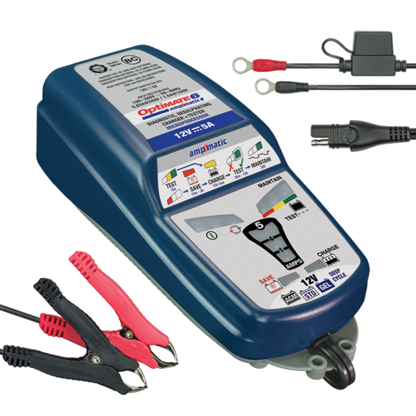 Optimate 6 Ampmatic Battery Charger in 2020 Battery