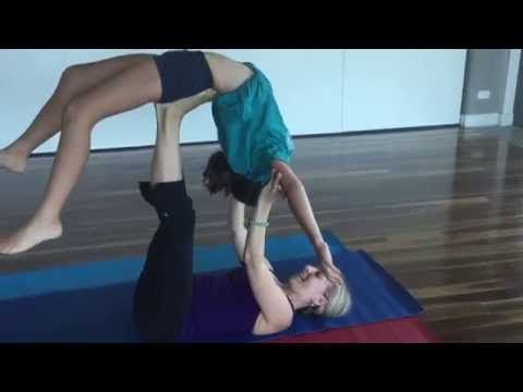 Kids AcroYoga with Yoga Palette 2015 - YouTube