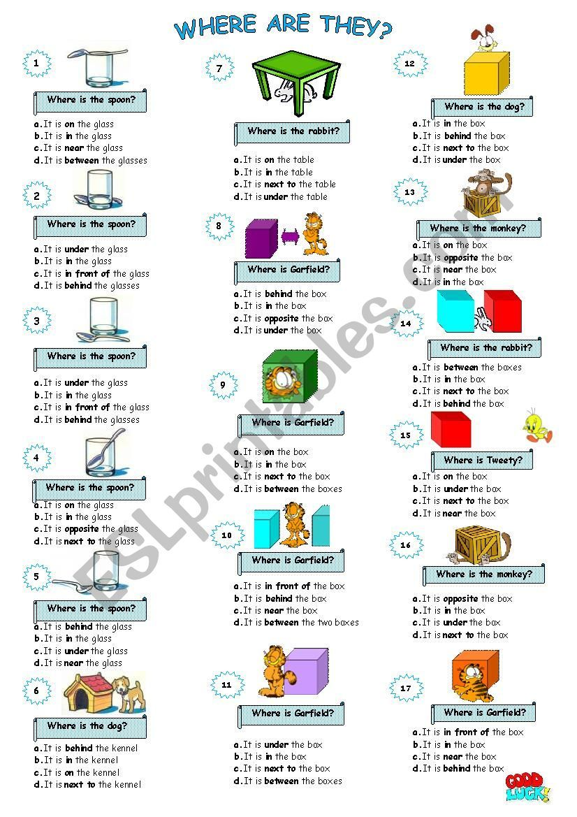 Including On In Under Next To Near Behind In Front Of Opposite Under Between Hope To Be Useful English Prepositions English Language Teaching Prepositions [ 1169 x 826 Pixel ]