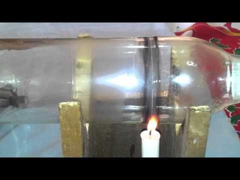 Como hacer un vaso de botella de vidrio 2/3