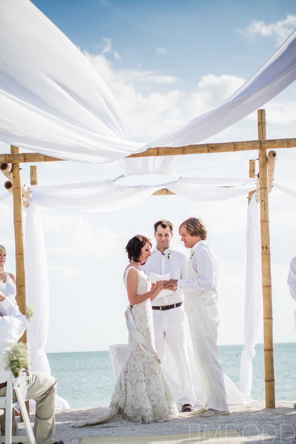 Beach Wedding Fort Myers White Alvina Valenta