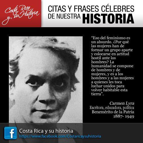 Carmen Lyra   Citas y Frases Célebres de Costa Rica ...