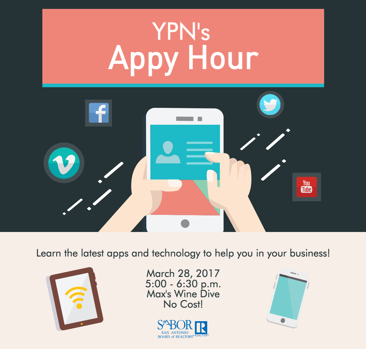 YPN's Appy Hour Is Coming Up On March 28th. Learn New