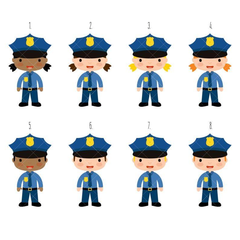 Police Clipart Festa Da Policia Festa Aniversario Aniversario