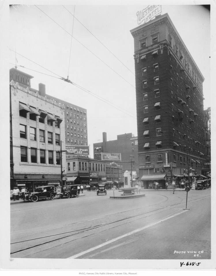 Westgate Hotel 9th and main street. In February,1927