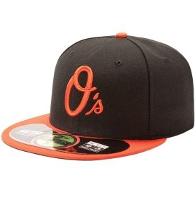 New Era Youth Baltimore Orioles 59Fifty Alternate Black Authentic ... 35d7f785f98