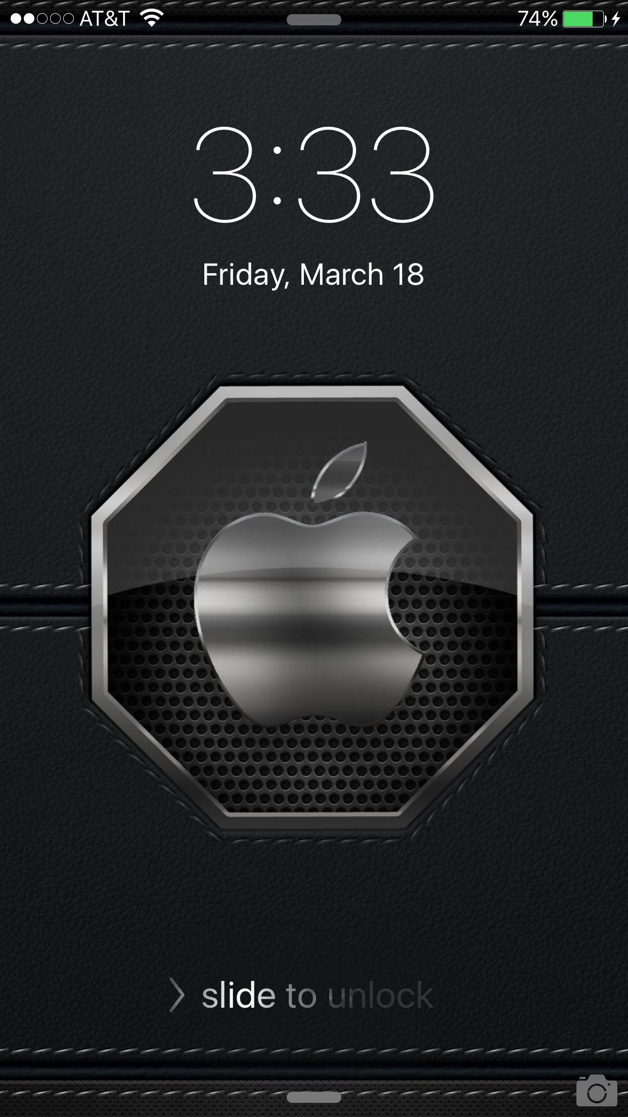 A miracle? Cool lock screen wallpaper, Apple wallpaper