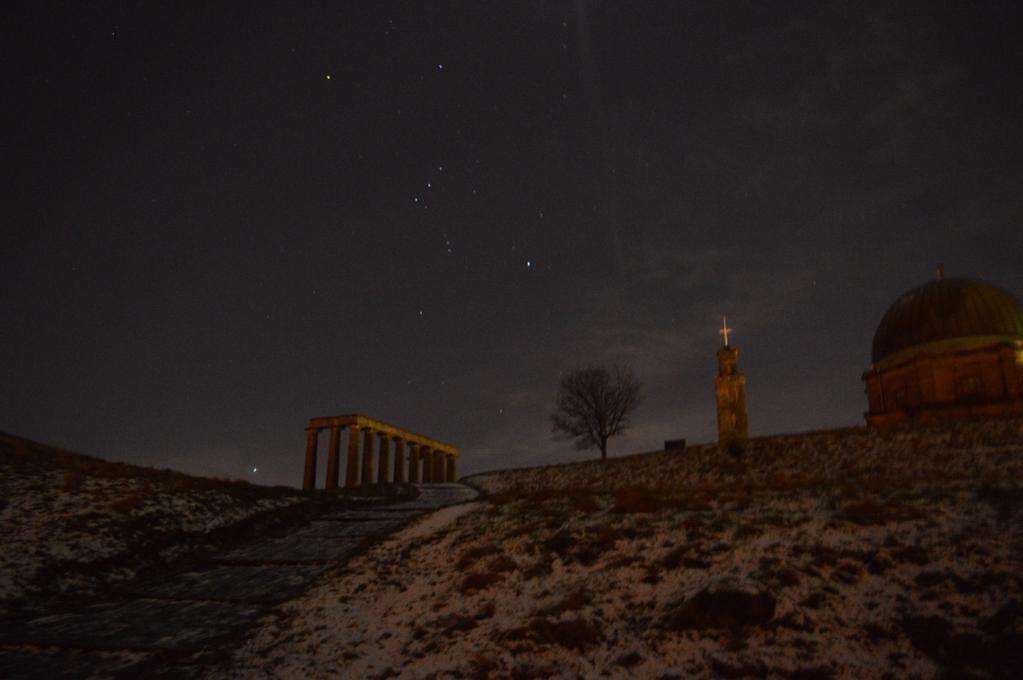 One starry night on Calton Hill, Edinburgh....  #Edinburgh #Scotland #EdinPhoto @edinburgh @welcomescotland