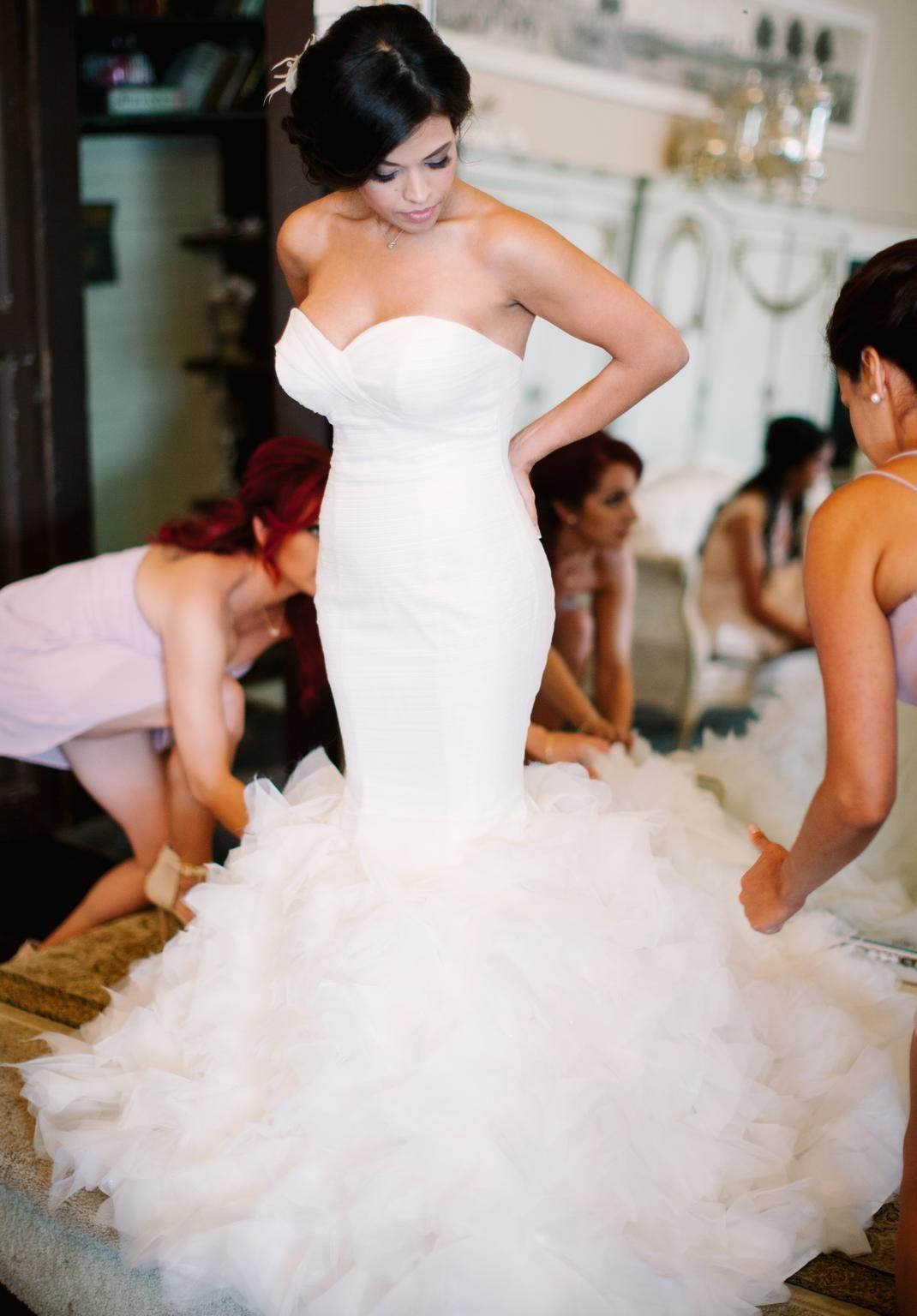 Winnie Couture Esme 8405, $1,200 Size: 0 | Used Wedding Dresses ...