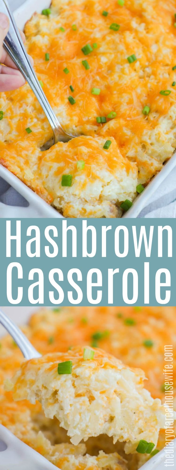 YUM So easy and so good Hashbrown Casserole
