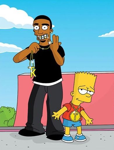 Terry Kennedy and Bart Simpson that s g Bart Simpson 966a0fd4a