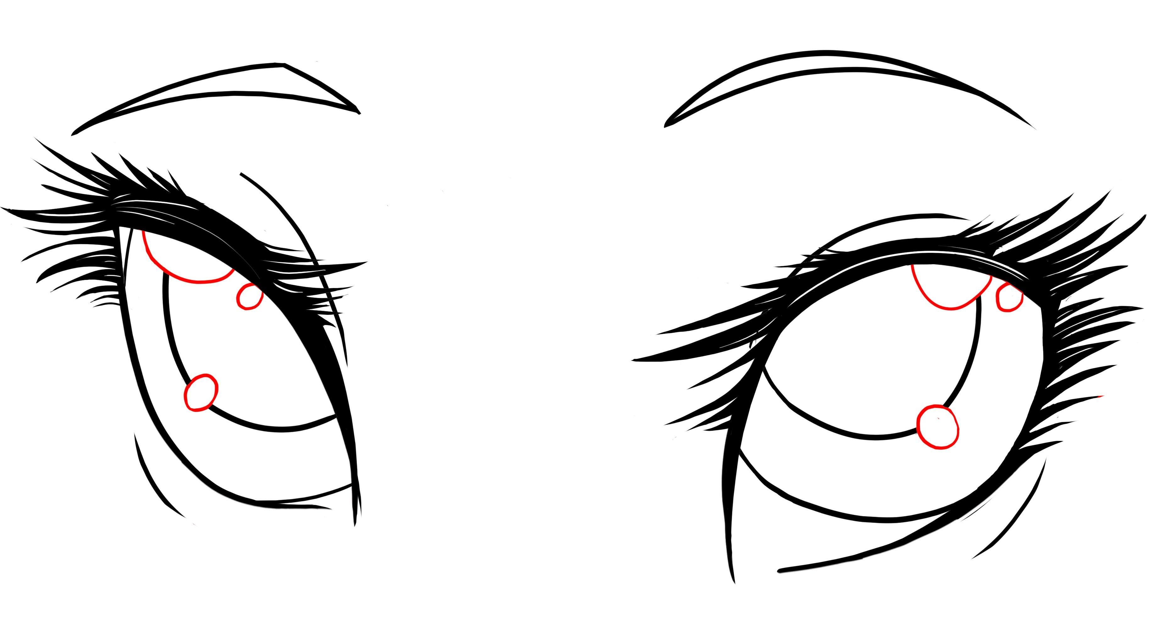 How to Draw Anime Female Eyes Step by Step (Beginners Guide)