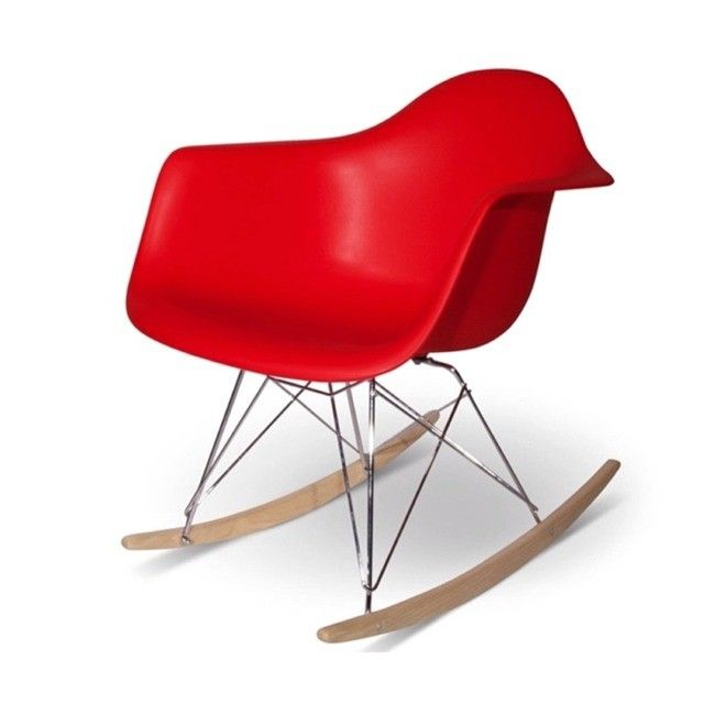 Enjoyable Eames Rocking Chair Rar White Interiors Eames Rocking Gmtry Best Dining Table And Chair Ideas Images Gmtryco