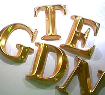 Gold 3d Letters 3d Letters Shop Signs Gold Letters