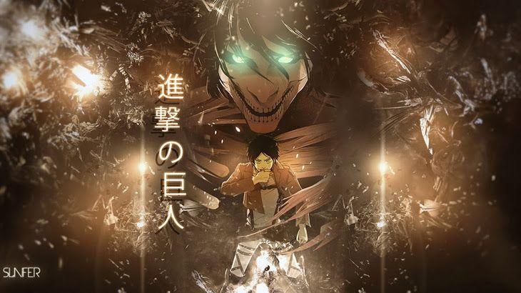 Eren Rogue Titan Form Attack On Titan Shingeki No Kyojin Anime Hd Wallpaper 1366x768 Sailor Moon Studio Ghibli Pokemon