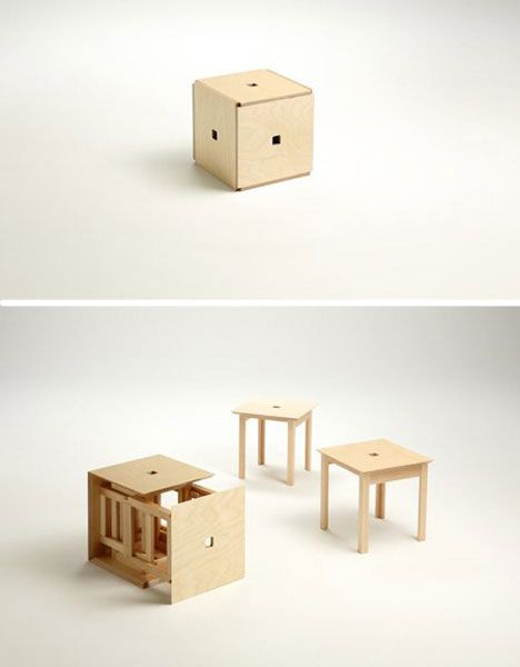 The Cube 6, From Japanese Designer Naho Matsuno, Lets You Seat A Ton Of