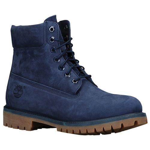 Timberland Premium Winter Boots Navy Monochrome Mono Waterproof Leather NEW