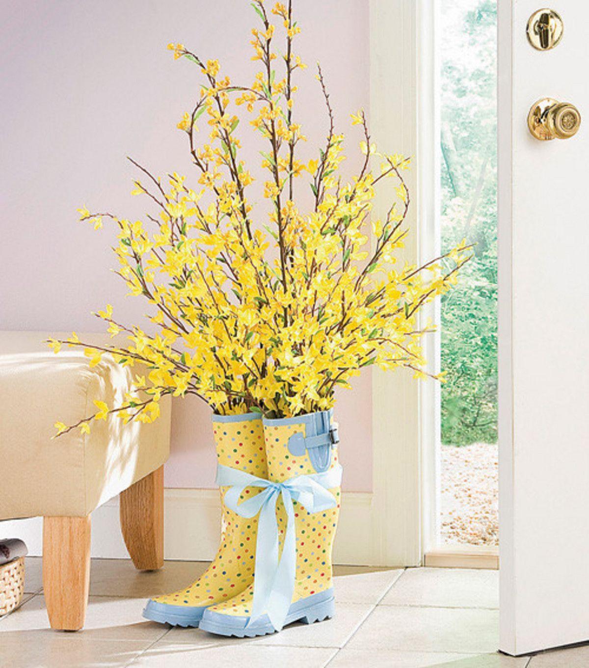 7 Creative Decor Ideas For Spring And Summer Zing Blog By Quicken Loans Spring Decor Diy Creative Decor Spring Diy