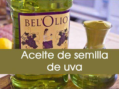 El Aceite De Semilla De Uva Contiene Aceites Esenciales Dentro De Los Que Destaca El Omega 6 Ayudando Al Buen Funcionamiento Ce Natural Remedies Remedies Food