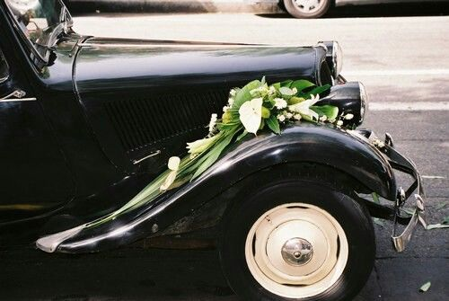 decoration mariage traction