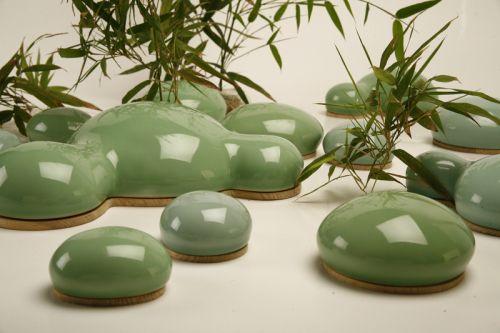 """Grønne """"sten"""""""