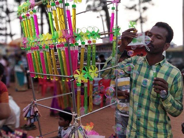 #goaindia#festival#colors#traveling#joy#hapiness