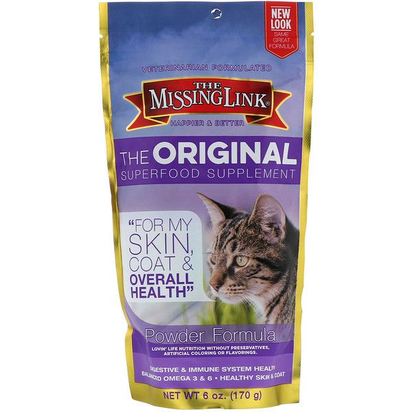 The Missing Link The Original Superfood Supplement Powder Formula For Cats 6 Oz 170 G Discontinued Item In 2020 Superfood Supplements Natural Pet Pet Vitamins