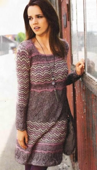 теплое платье крючком схемы поиск в Google Warm Knitted Dresses