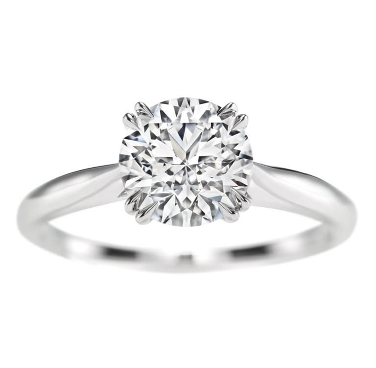 Harry Winston Round Brilliant Solitaire Round brilliant diamond