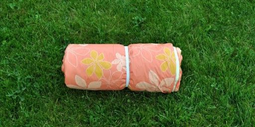 Waterproof blanket - I think this is a great idea - and to take to the beach so sand won't stick to it - even better!