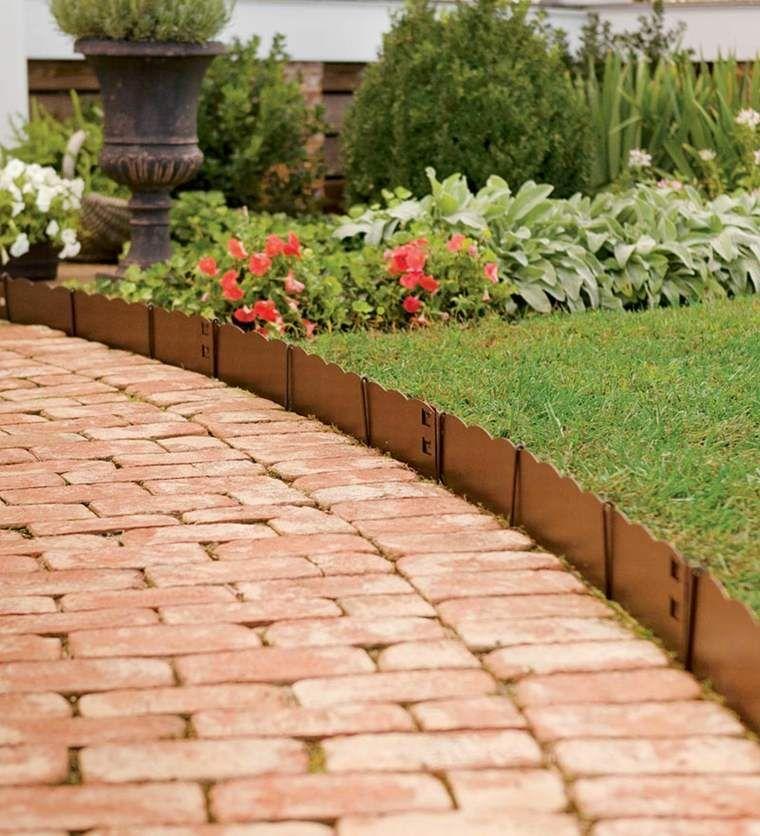 Idee Bordure Jardin 50 Propositions Pour Votre Exterieur Bordure Jardin Bordure Pelouse Jardins