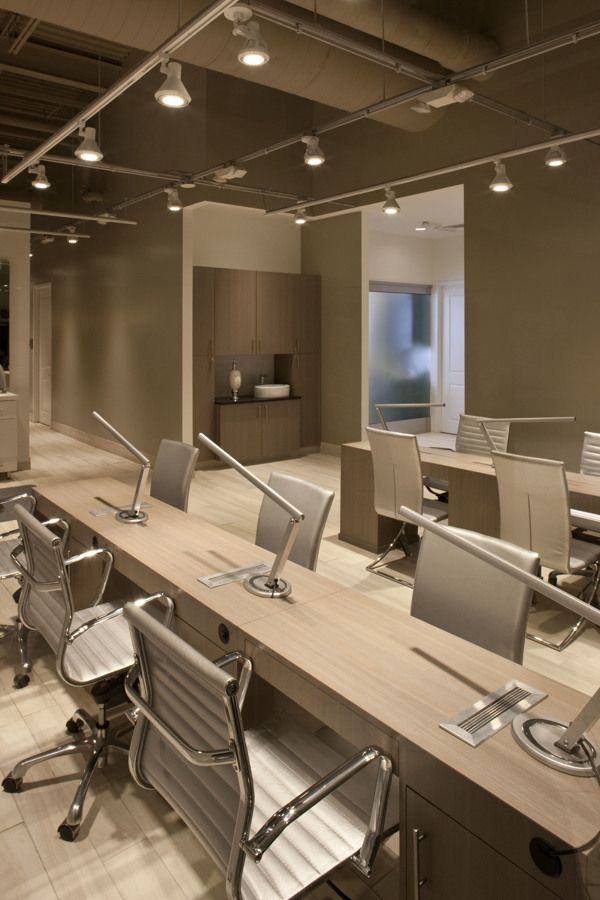 Interior Lighting Design Tricho Salon Spa by Leslie McGwire