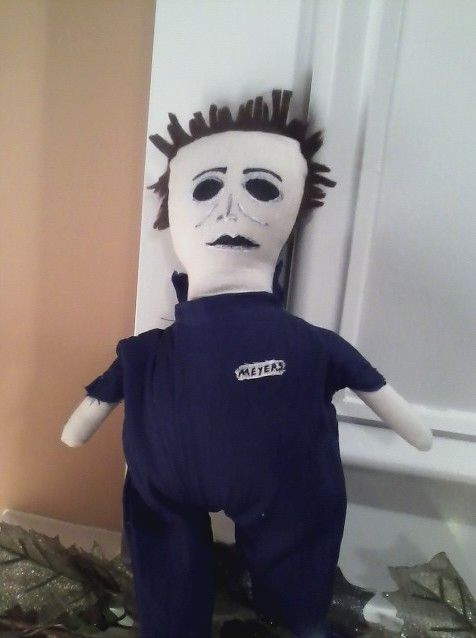 My attempt at making a Michael Myers doll.