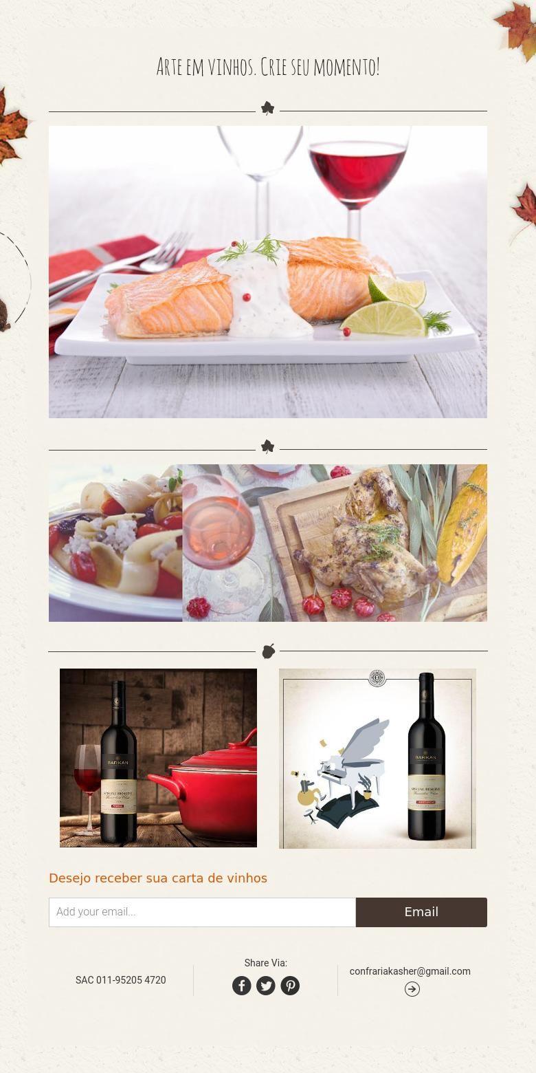 Arte em vinhos. Crie seu momento!