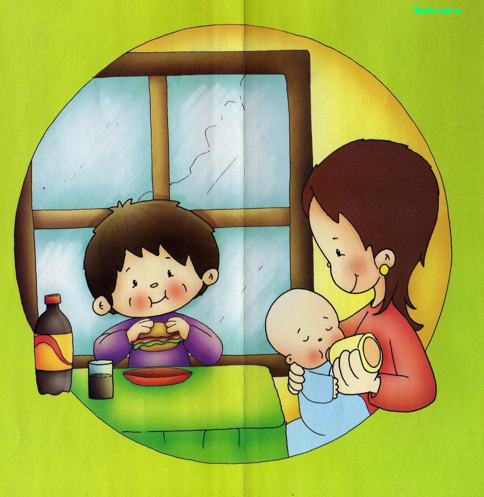 Menta m s chocolate recursos para educaci n infantil dibujos de los derechos de los ni os - Agencias para tener estudiantes en casa ...