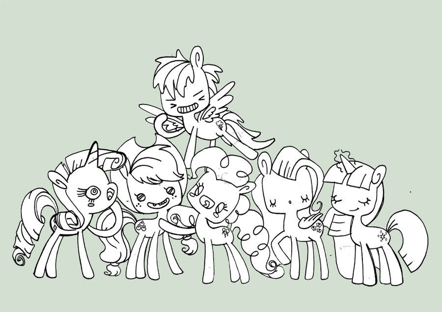 Mlp fim online coloring pages