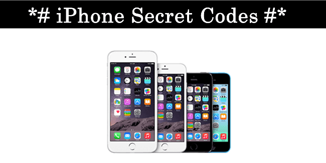 list of all working top best iPhone secret codes 2016 pdf download