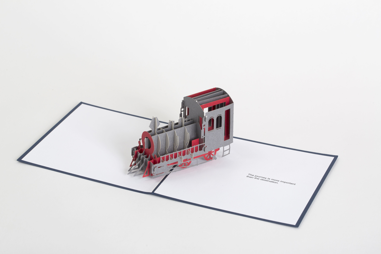 Paper Pop Cards | PPC-TRN160 Train