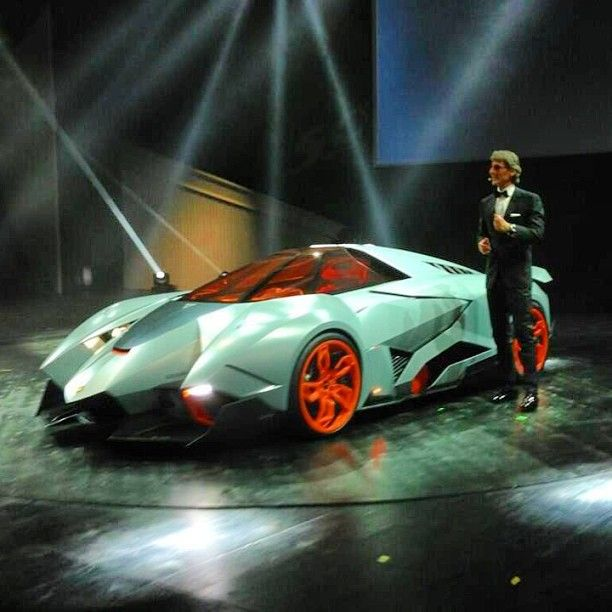 Lamborghini Unveiled The Egoista Concept At The Finale Of