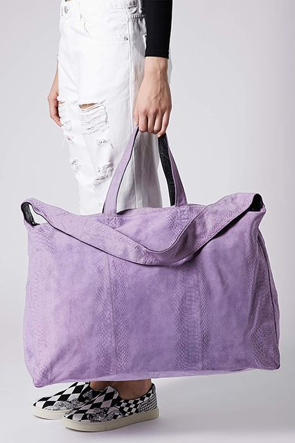 19 Weekender Bags For A Super-Chic Trip #refinery29 http://www.refinery29.com/weekender-bags#slide4