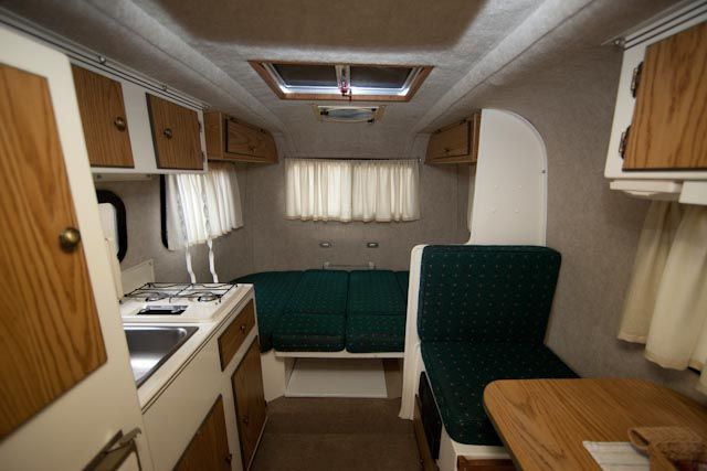 16 Ft Scamp Interior Too Casita Travel Trailers Trailer