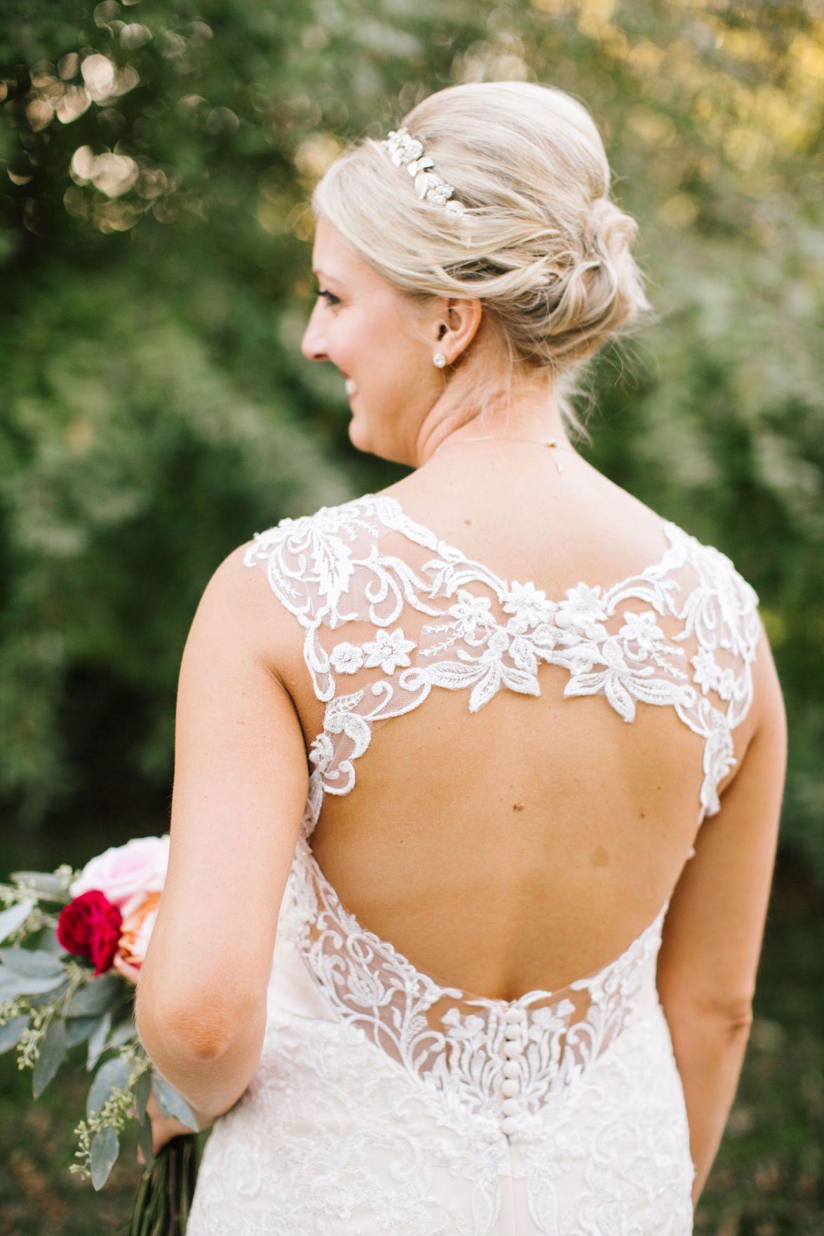 Real Wedding // Lynn + Jimmy Wedding dresses lace