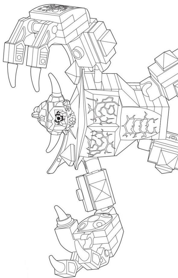 29 coloring pages of Lego Nexo Knights on Kids-n-Fun.co.uk. Op Kids ...