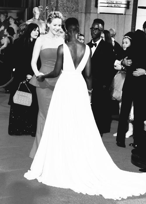 Jennifer Lawrence & Lupita Nyong'o