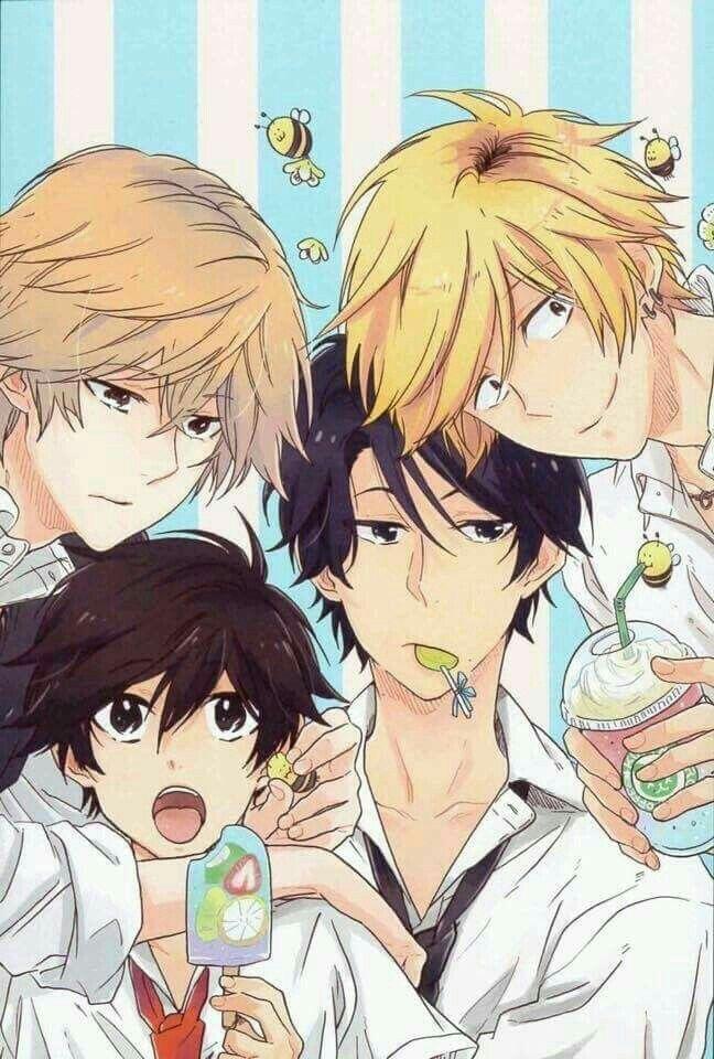 Rekomendasi / Daftar anime yaoii dan shonen ai ^ω^
