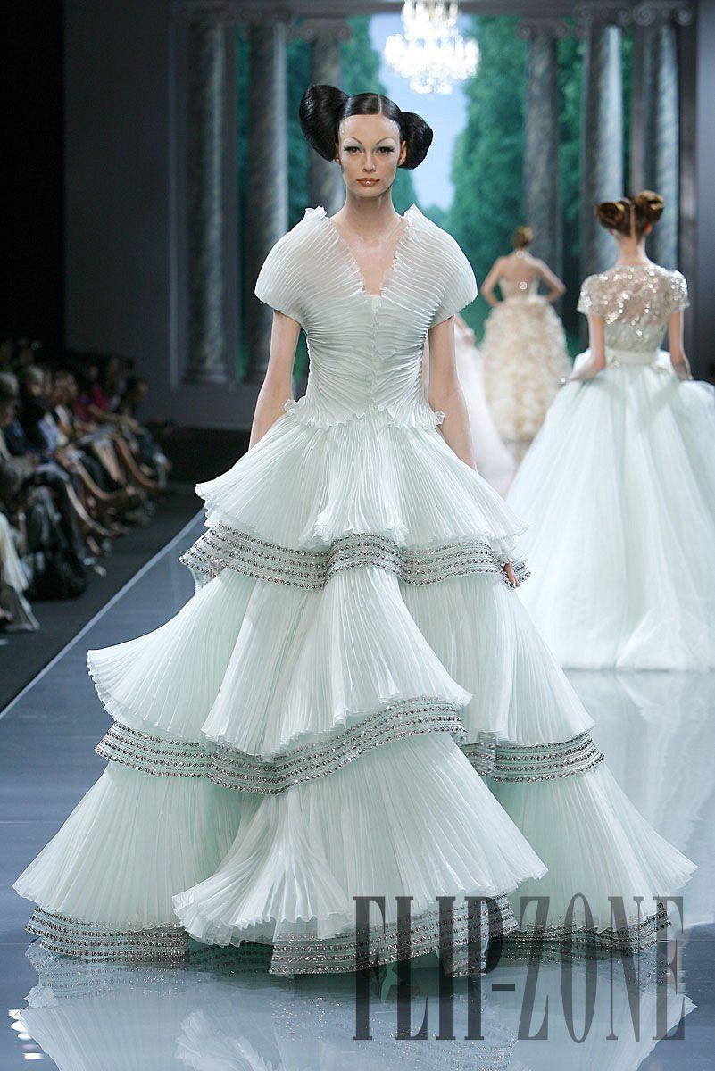 Old Fashioned Christian Dior Wedding Gown Composition - All Wedding ...