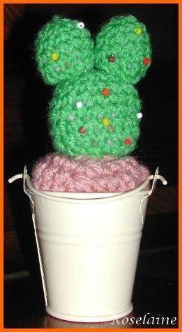 Un cactus au crochet
