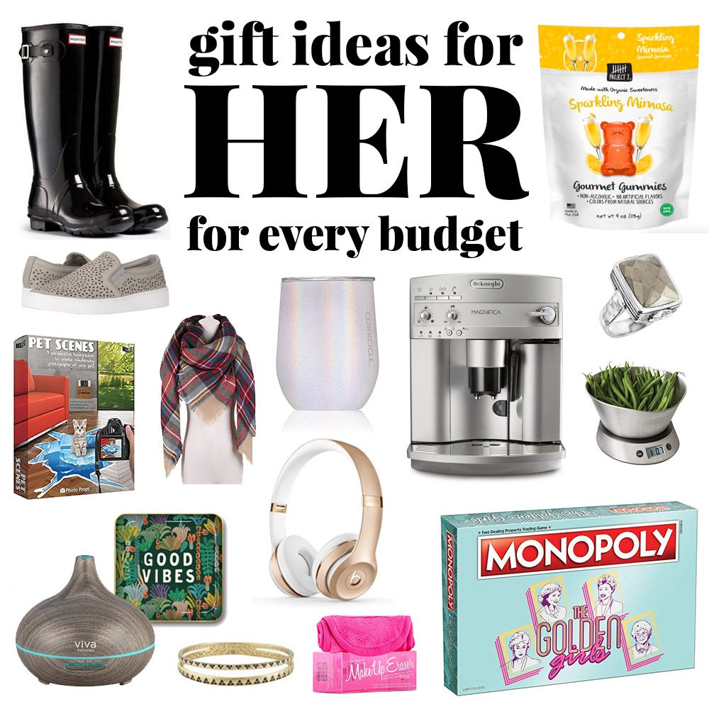 Christmas gift ideas for her for any budget homemade