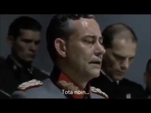Hitler kuulee, ettei Suomalainen ruoka kelpaa pakolaisille